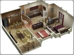 beautiful 3d Floor Plans 3d House Design 3d House Plan Customized 3d Home contemporary design