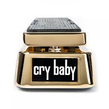 50th anniversary gold plate jim dunlop cry baby gcb95g 50th anniversary ltd edition gold wah pedal