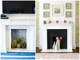 how to decorate your fireplace in the summer decorating and