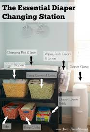 Changing Table Organizer Ideas Bicycle Themed Nursery Reveal Favorites Changing