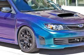 subaru wrx custom blue pacific blue starlight wrx wrap wrapfolio