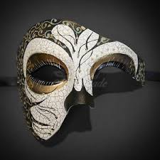 masquerade masks creative design phantom for men masquerade mask costume prom party