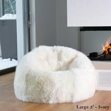 sheepskin beanbag chairs celebtx