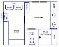 master bathroom floor plans shower only sacramentohomesinfo