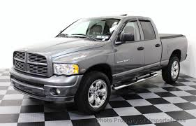 dodge trucks used 2005 used dodge ram 1500 ram 1500 cab 4wd 5 7l v8 hemi