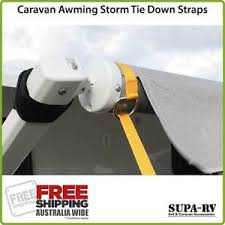 Awning Pegs Caravan Awning Storm Tie Down Straps Kit 2 Per Set With Pegs And