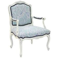 Paisley Accent Chair Old Hickory Tannery Hand Carved Blue Paisley Accent Chair Polyvore