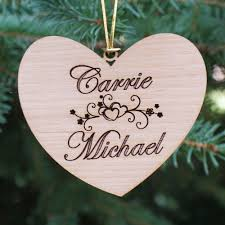 personalized couples ornament personalized couples