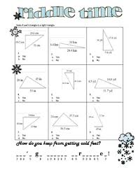 pythagorean theorem converse riddle time by math maniacs tpt