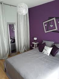 décoration violet chambre parentale5 chambre parentale gris et
