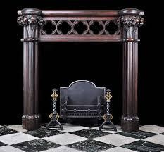 fireplace doors black binhminh decoration
