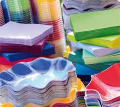 piatti e bicchieri di plastica colorati cartidea articoli coordinati decorazioni e bomboniere per feste