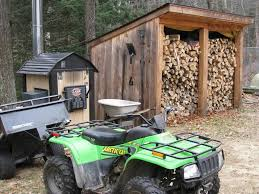 Diy Firewood Shed Plans by Progress A Sturdy Woodshed That Will Keep Wooden Shed Design Plans