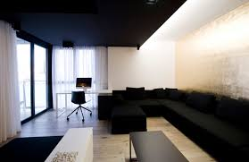 Spacious Design by Light Grey Walls Interior Design Rukle Large Size Gray Fireplace