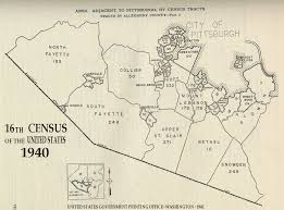 Dc Ward Map 1940 Census Tracts Indiana University Libraries