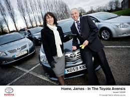 Home James by Home James U2013 In The Toyota Avensis Toyota Uk Media Site