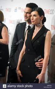keith lieberthal and julianna margulies attending the time 100