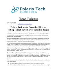 Seeking Director Seeking Exec Director Polaris Tech Charter School