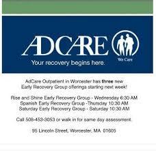 adcare detox worcester adcare hospital linkedin