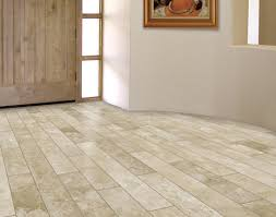 mex travertine planks in interior for the home