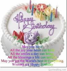 Wishing You A Happy Birthday Quotes 2015 Happy Birthday Quotes And Sayings On Images