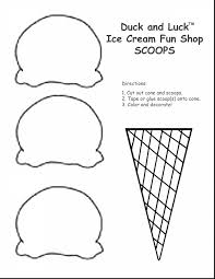 coloring page cone awesome cone coloring page with coloring pages