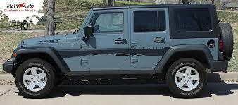 jeep wrangler graphics trek jeep wrangler side door fender to fender vinyl graphics