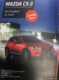 lexus suv 2015 price in malaysia 2015 mazda cx 3 price revealed in newsletter malaysia