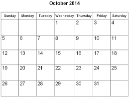 28 best october 2014 calendar images on pinterest printable