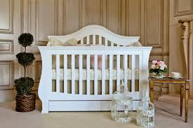 Convertible Crib White by Ashbury 4 In 1 Convertible Crib With Toddler Rail White Twinkle