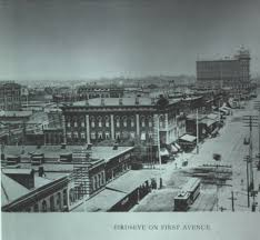 tbt details of a shootout on 1st avenue in birmingham alabama on