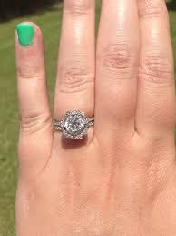harry winston ring just got my custom hw inspired ring weddingbee