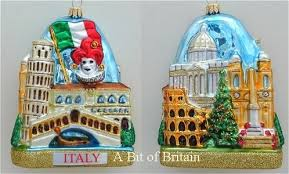italian themed ornaments