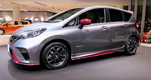 nissan note 2017 nissan note e power nismo is green and at the same time