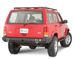 purple jeep cherokee 1984 2001 cherokee xj jeep bumpers towing racks quadratec