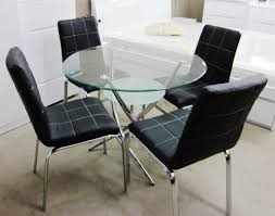 folding dining room table space saver butterfly folding dining table and four chairs round glass small