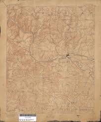 University Of Arkansas Map Arkansas Historical Topographic Maps Perry Castañeda Map