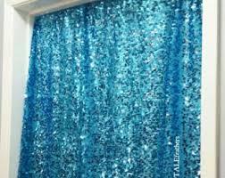 wedding backdrop blue sequin backdrop etsy