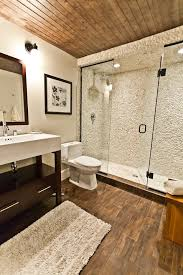 Porcelain Wood Tile Flooring Glazed Porcelain Wood Tile Shower Bathroom Contemporary With Floor