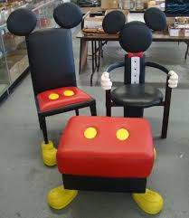 mickey mouse chair covers mickey mouse accent furniture disney home accent