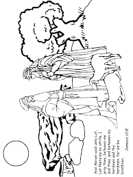 abraham and isaac coloring page 176 best church bible abraham isaac images on pinterest