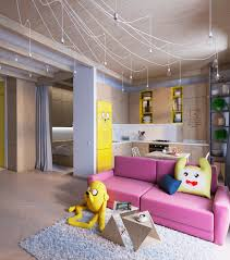 bright homes in three styles pop art scandinavian and