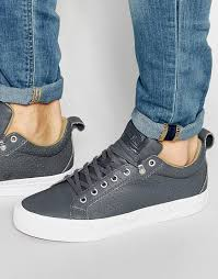converse chuck taylor all star fulton leather grey men shoes