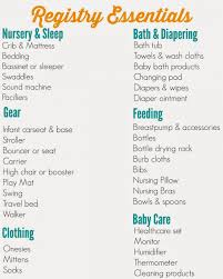 baby shower gift registry list wblqual pertaining to wedding