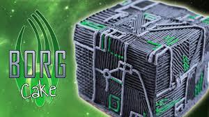borg cube cake nerdy nummies youtube
