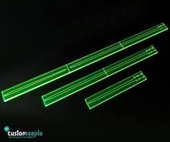 customeeple star wars x wing fire range templates transparent