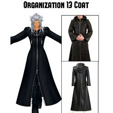 Kingdom Hearts Halloween Costumes Kingdom Hearts Organization 13 Coat Hoodie Filmsjackets