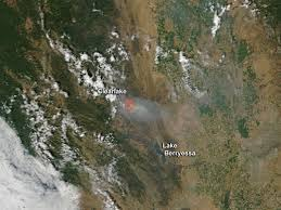 Wildfire Alaska 2015 Map by Rocky Fire California July 30 2015 Nasa