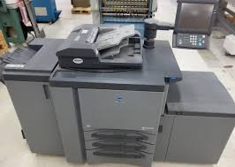 lot 14 konica minolta biz hub pro 950 copier with heavy duty