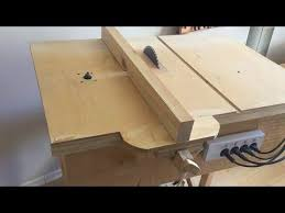 how to build a router table youtube building 4 in 1 workshop homemade table saw router table disc